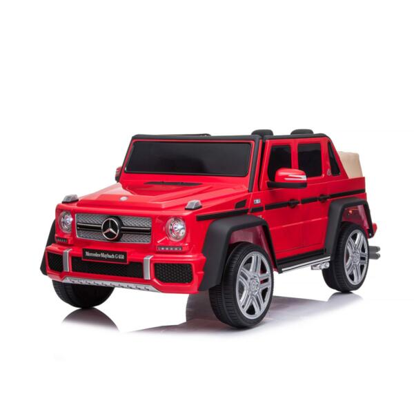 CHIPOLINO  Eл. джип Mercedes Maybach G650 червен