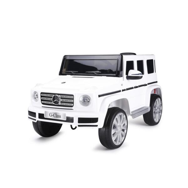 CHIPOLINO Eл. джип MERCEDES G 500, бял