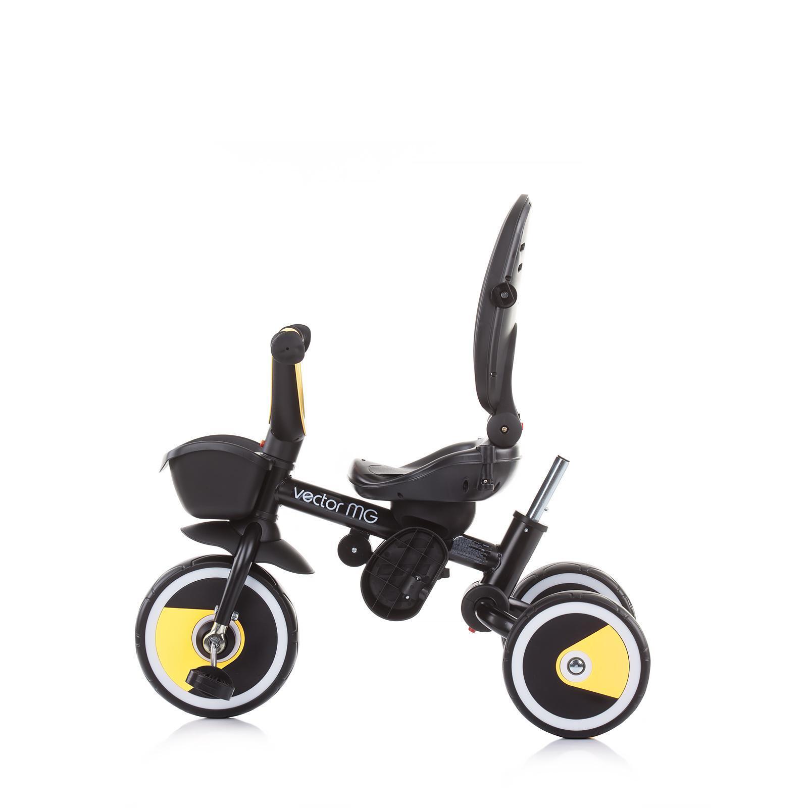 Chipolino Триколка 360 със сенник Вектор MG асфалт