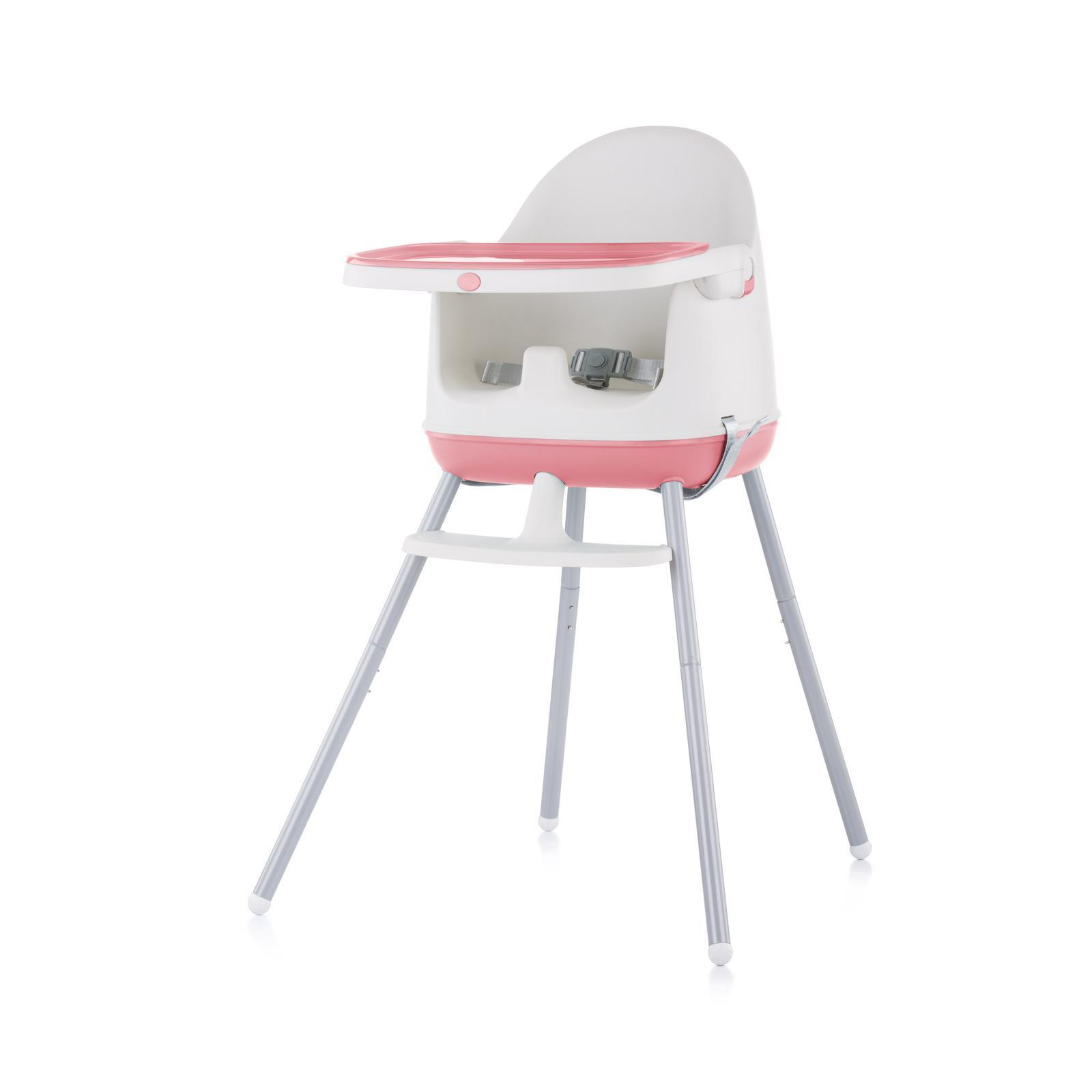 "Chipolino Стол за хранене 3 в1 ""Пудинг""розов божур"