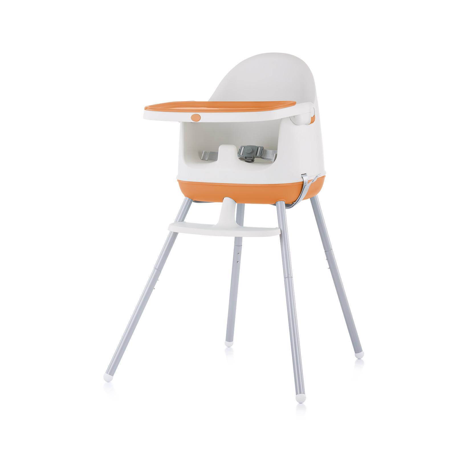 """Chipolino Стол за хранене 3 в1 """"Пудинг""""портокал"""
