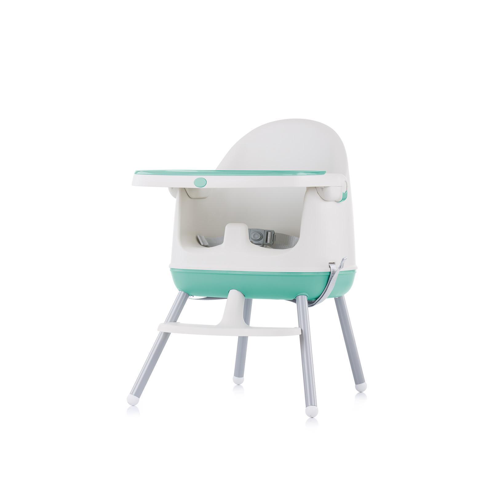 """Chipolino  Стол за хранене 3 в1 """"Пудинг"""" мента"""