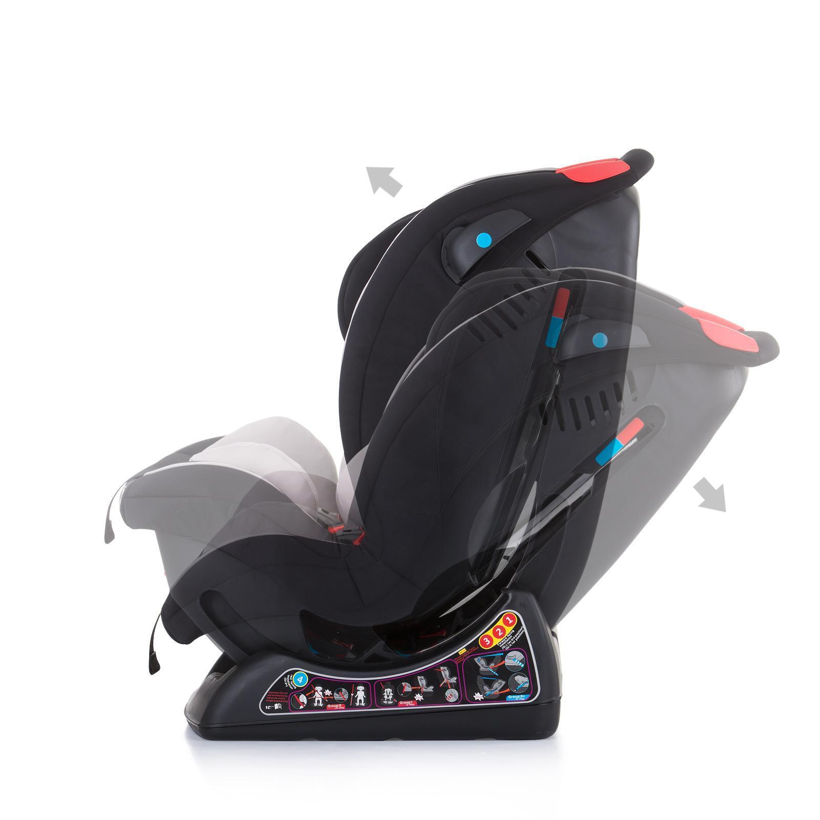 Chipolino Столче за кола 0-25 kg Тракс Релакс лате