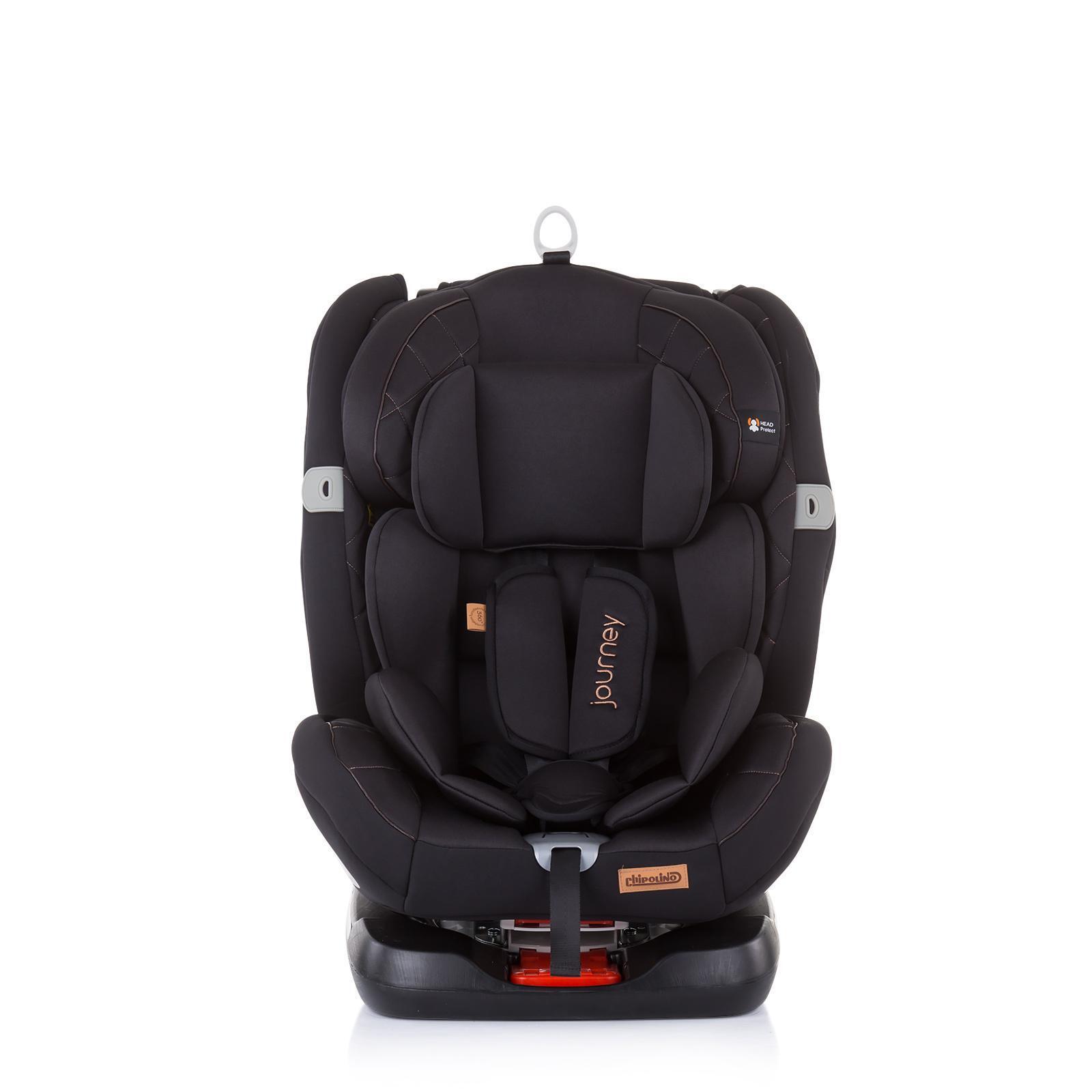 Chipolino Стол.кола 360 ISO 0-36 kg Journey карбон
