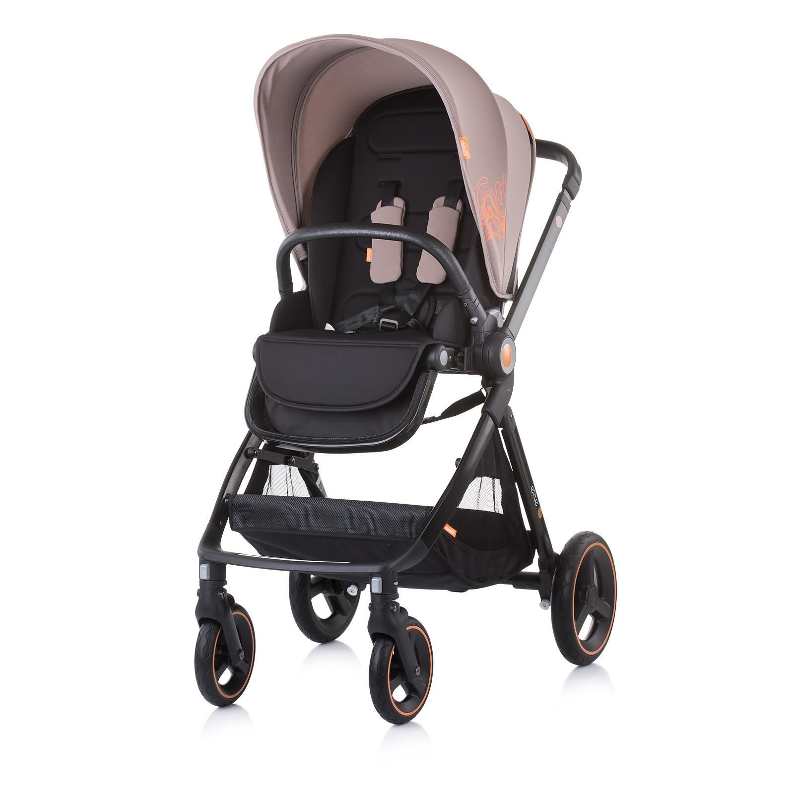 "Chipolino Детска количка до 22 кг ""Елит"" лате"