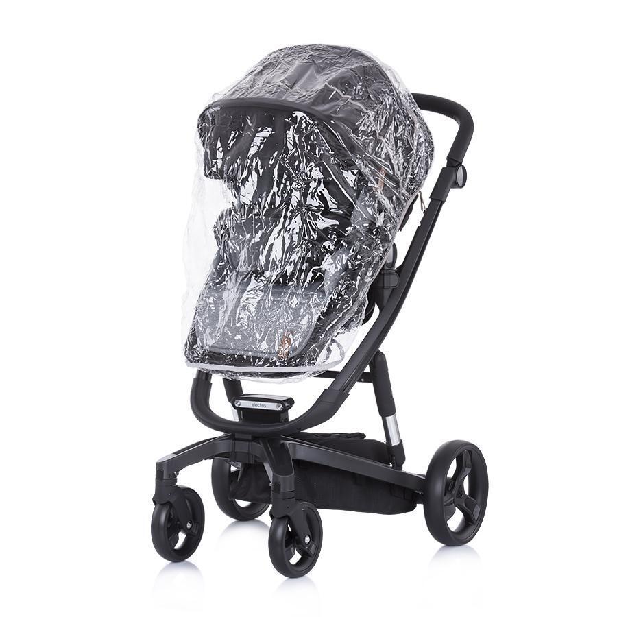 """Chipolino Детска количка Електра""""черна рама -черна"""