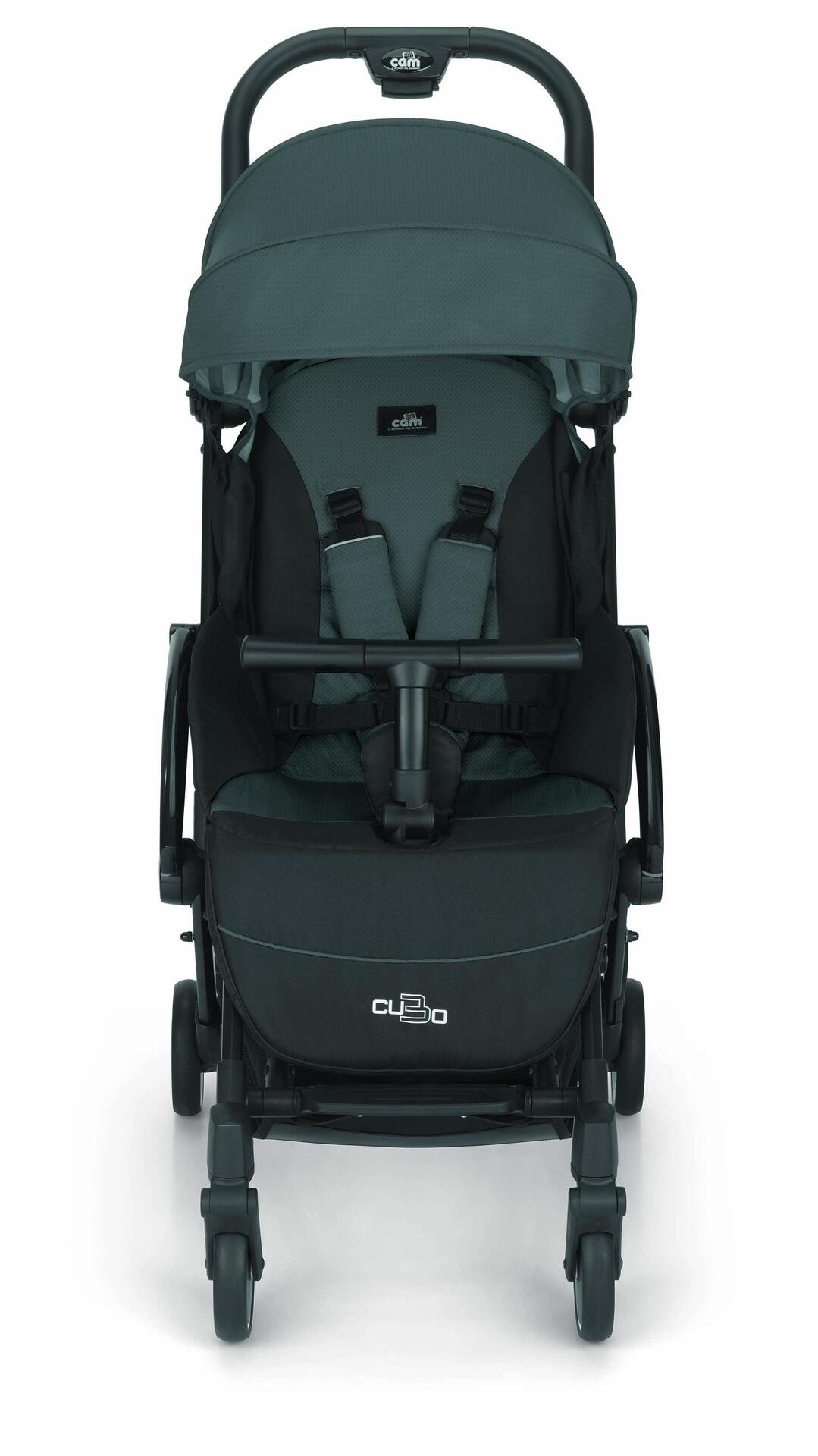 """Детска количка """"Cubo Evo""""125 сиво"""
