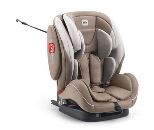 """CAM Столче за кола """"Regolo Isofix""""499 капучи"""