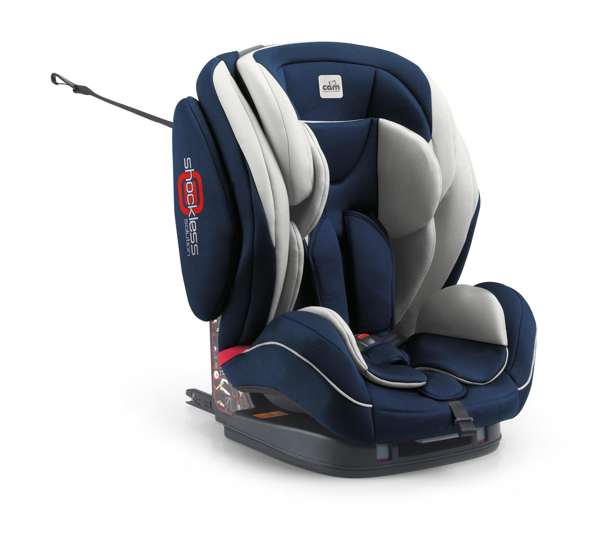 """CAM Столче за кола""""Regolo Isofix""""497 синьо"""