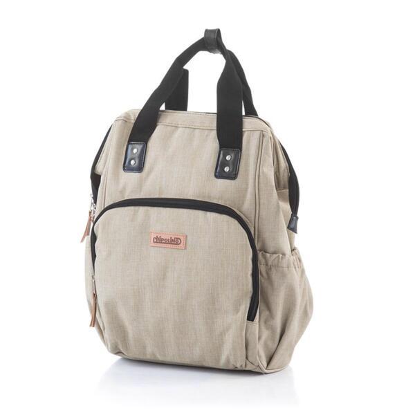 Chipolino чанта-раница за количка фрапе деним