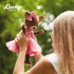 Orange Toys детска играчка Lucky Kiki Пурпурен Блясък 40см