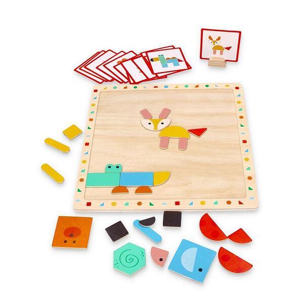 Lelin Toys, Магнитен пъзел с форми