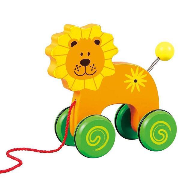 Lelin Toys, Играчка за дърпане, Лъвче