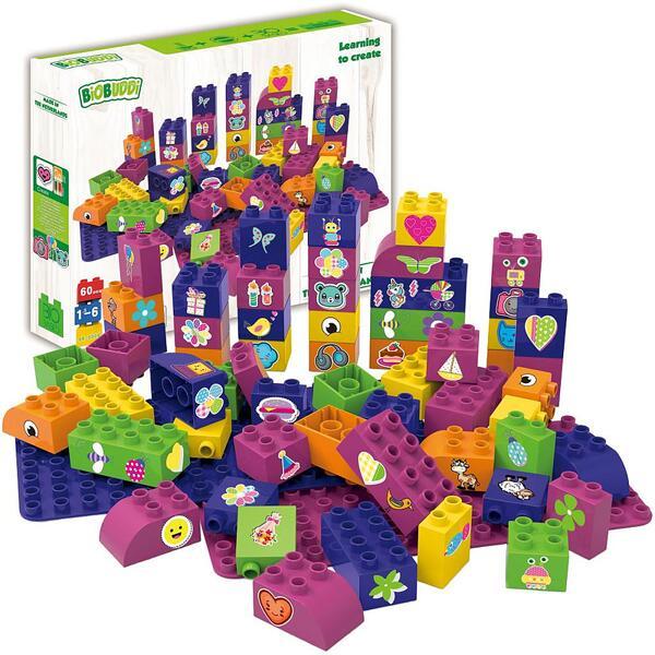 Конструктор BioBuddi - Образователни кубчета за момичета 60бр.