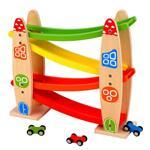 Lelin Toys, Дървено роли с колички, Ракета