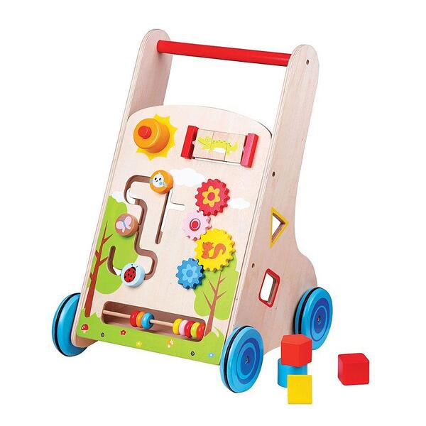 Lelin Toys, Дървена бебешка проходилка
