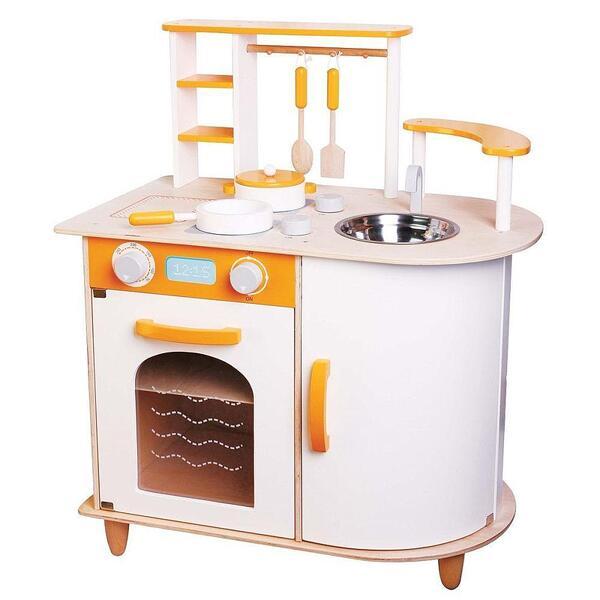Lelin Toys, Детска дървена кухня, Алисия