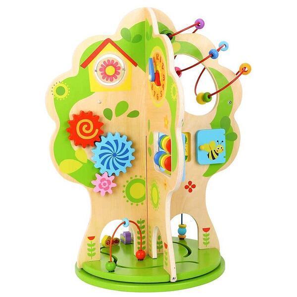 Tooky Toy, Дървено въртящо се дърво с активности