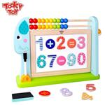 Tooky Toy, Двустранна магнитна дъска със сметало, Слонче