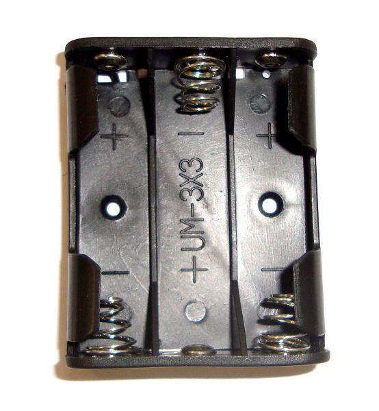 Държач за батерии 3 х АА