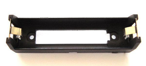 Държач за 1 бр. батерия 18650 за монтаж на платка