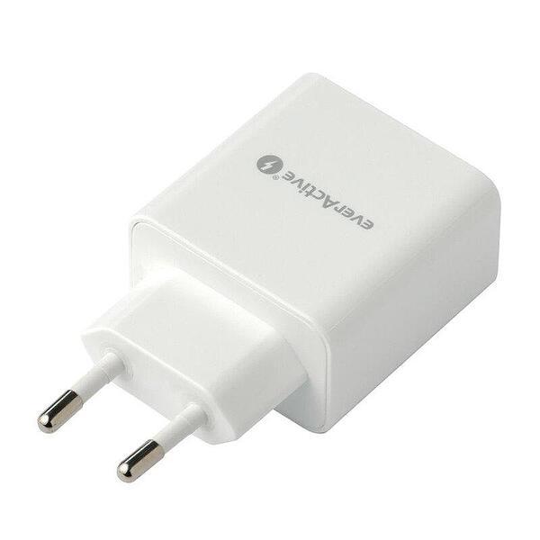 Зарядно устройство everActive SC-350Q  USB QC/PD 18W