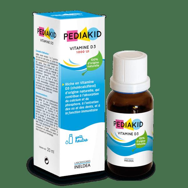 PEDIAKID Vitamine D3 1000 UI (Витамин Д3 на капки)