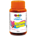 PEDIAKID Gommes Vitamine D3 (Дъвчащи мечета с Vit.D3)