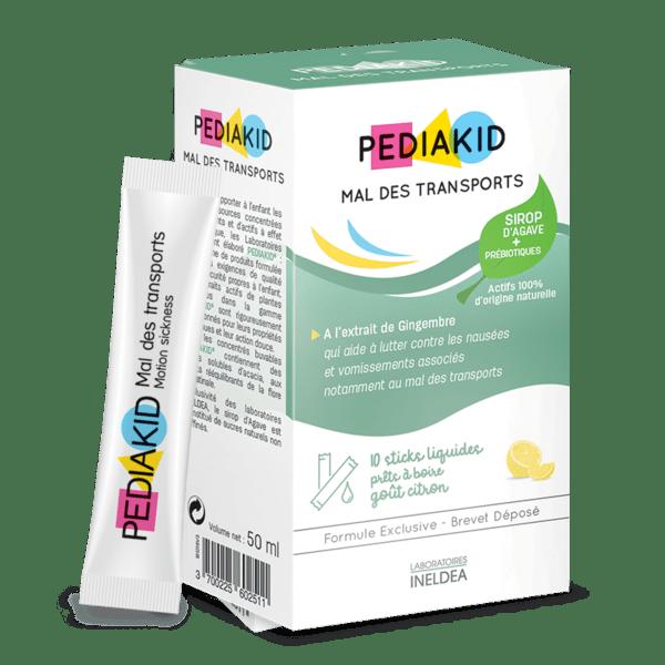 PEDIAKID® Mal des transports (Сашета срещу гадене и повръщане)