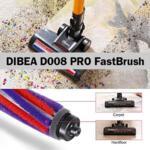 Безкабелна прахосмукачка DIBEA D008 PRO FastBrush