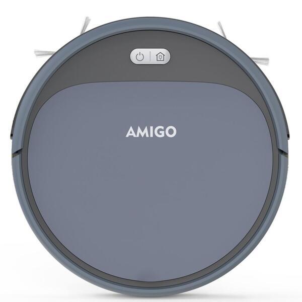 AMIGO (IseeLife) - Робот прахосмукачка (сив цвят)