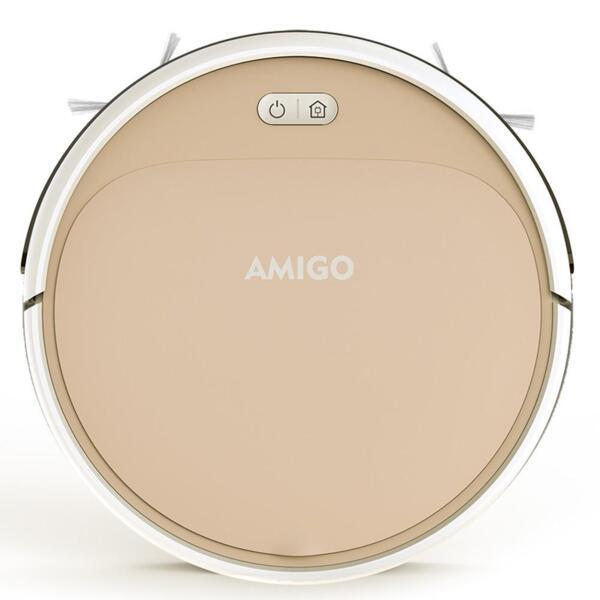AMIGO (IseeLife) - Робот прахосмукачка (цвят розово злато)