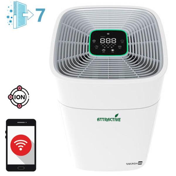 Oberon 800 WiFi, дизайн A (до 96 м2) - Въздухопречиствател