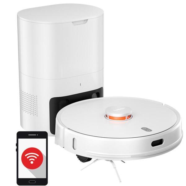 Xiaomi LYDSTO R1 - Робот прахосмукачка с автоматичен контейнер за отпадъци (бял)