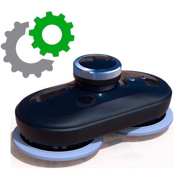 Пластмасов държач за моп за модел Mamibot Glassbot W110