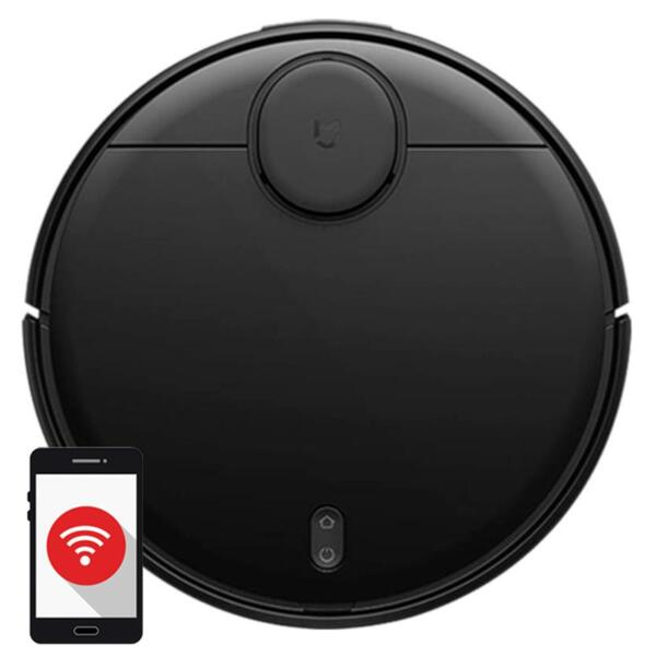 Xiaomi Mi robot Vacuum Mop-P (Pro) (EU Версия)  - Робот прахосмукачка (черен цвят)