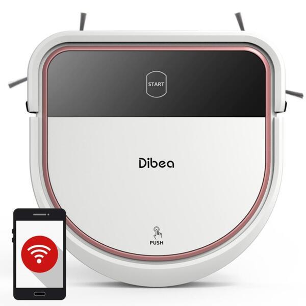 DIBEA D500 - Робот прахосмукачка - САМО ЗА ФИРМИ