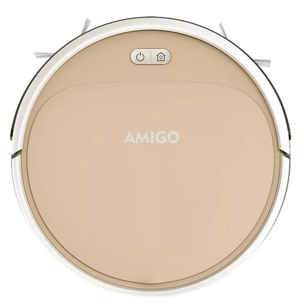 AMIGO (IseeLife) - Робот прахосмукачка (цвят розово злато) - САМО ЗА ФИРМИ