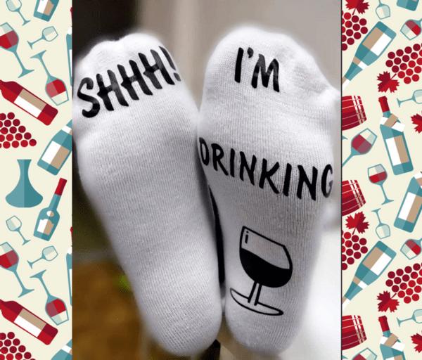 "Чорапи ""I'm drinking"""