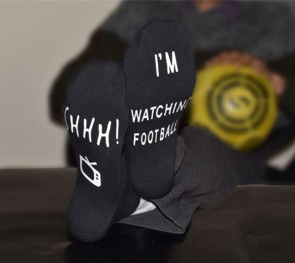 Чорапи за гледане на футбол