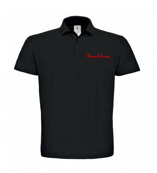 Тениска с Яка с Ваше Лого