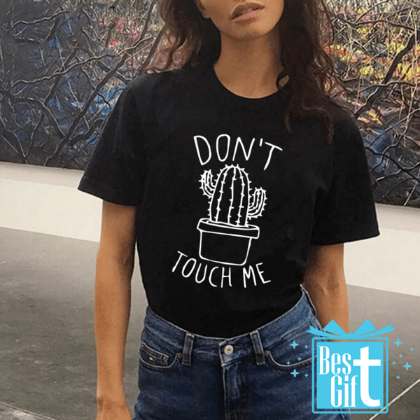 Тениска Don't Touch Me