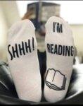 Чорапи Shhh! I'm reading