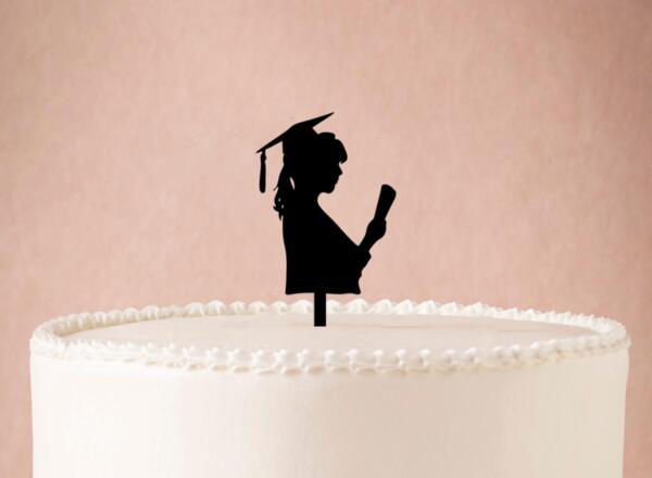 Топер за Торта за Дипломиране