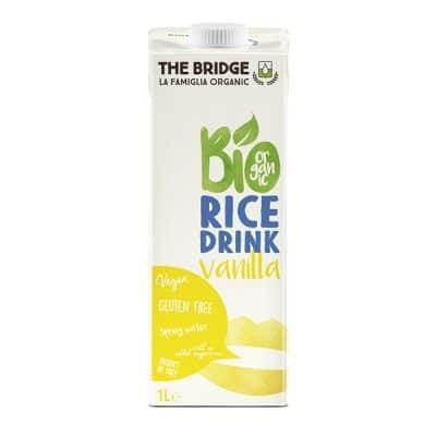 Био оризова напитка с Ванилия, The Bridge, 1l