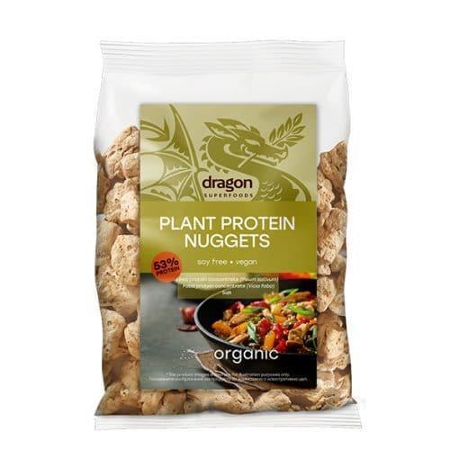 Текстуриран Грахов Протеин Nuggets, 150g, Dragon Superfoods