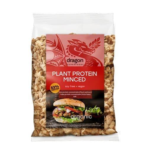 Текстуриран грахов протеин MINCED, 200g, Dragon Superfoods