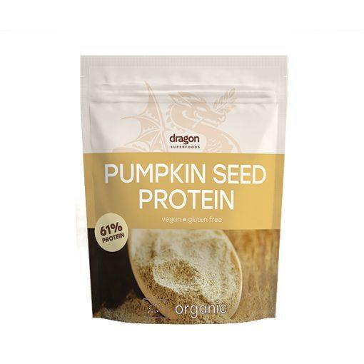 Био Протеин от Тиквено Семе на Прах 61%, 1,5kg, Dragon Superfoods