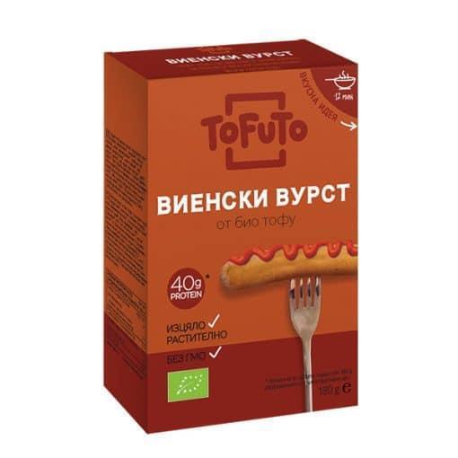 Био Тофу Виенски Вурст, 180g, ToFuTo