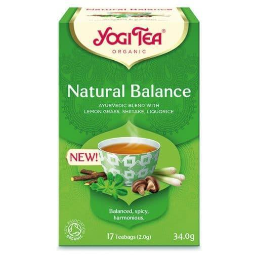 Био Аюрведичен Чай Естествен Баланс, Yogi Tea, 17 пакетчета